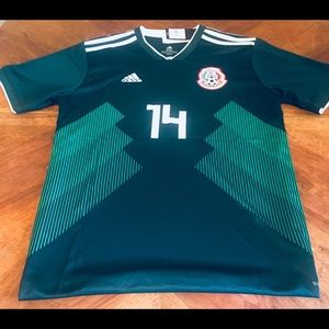 Chicharito Mexico World Cup Home Jersey